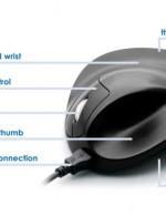 Zwarte Muis met tekst voor Internet