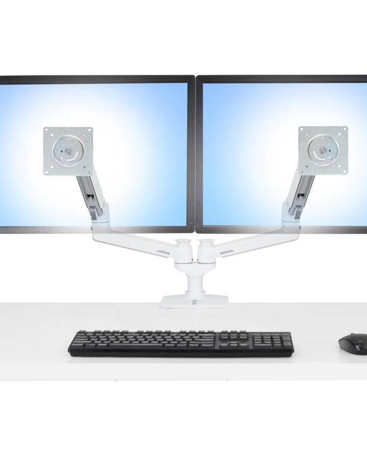 Bras support Bi-écrans Ergotron LX